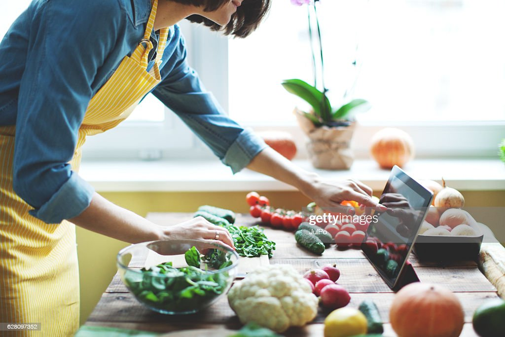 Fresh vegetables : Stock Photo