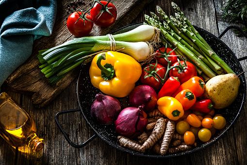 Fresh vegetables still life 1125868202