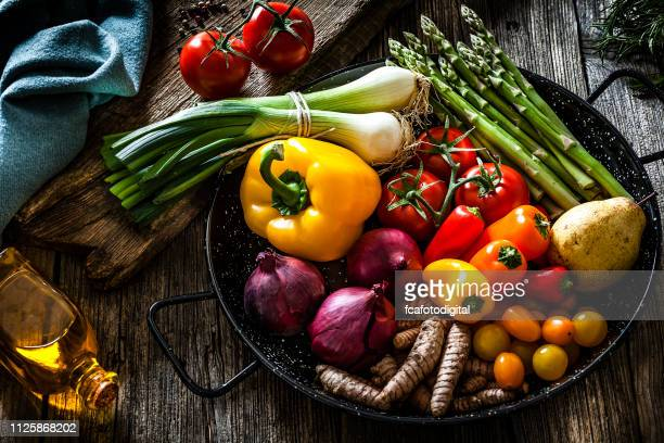fresh vegetables still life - freshness stock pictures, royalty-free photos & images
