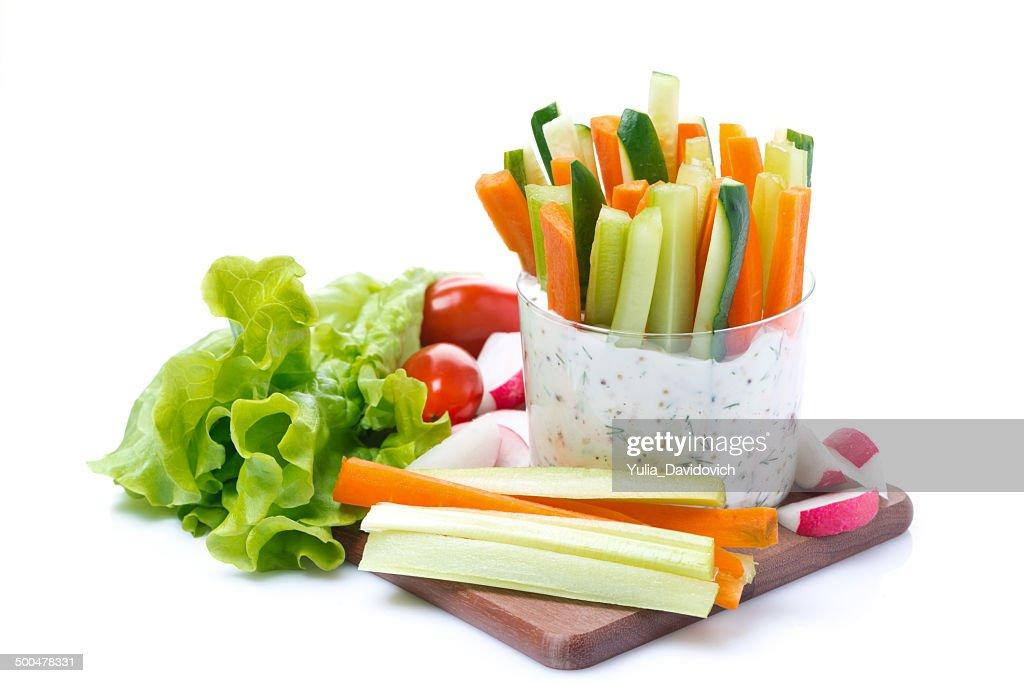 как подать овощи в стакане ткани: строение