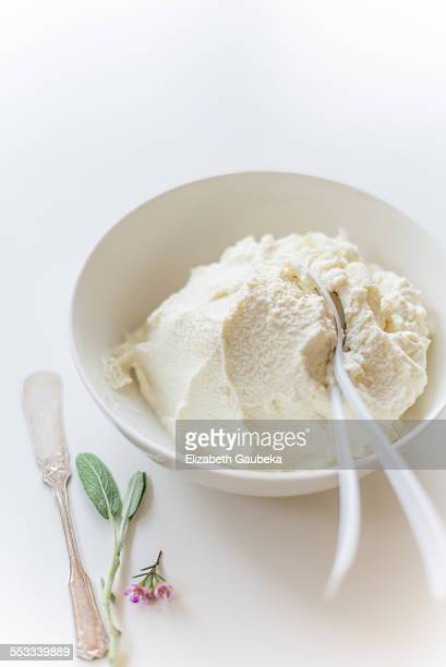 Fresh whole milk ricotta cheese