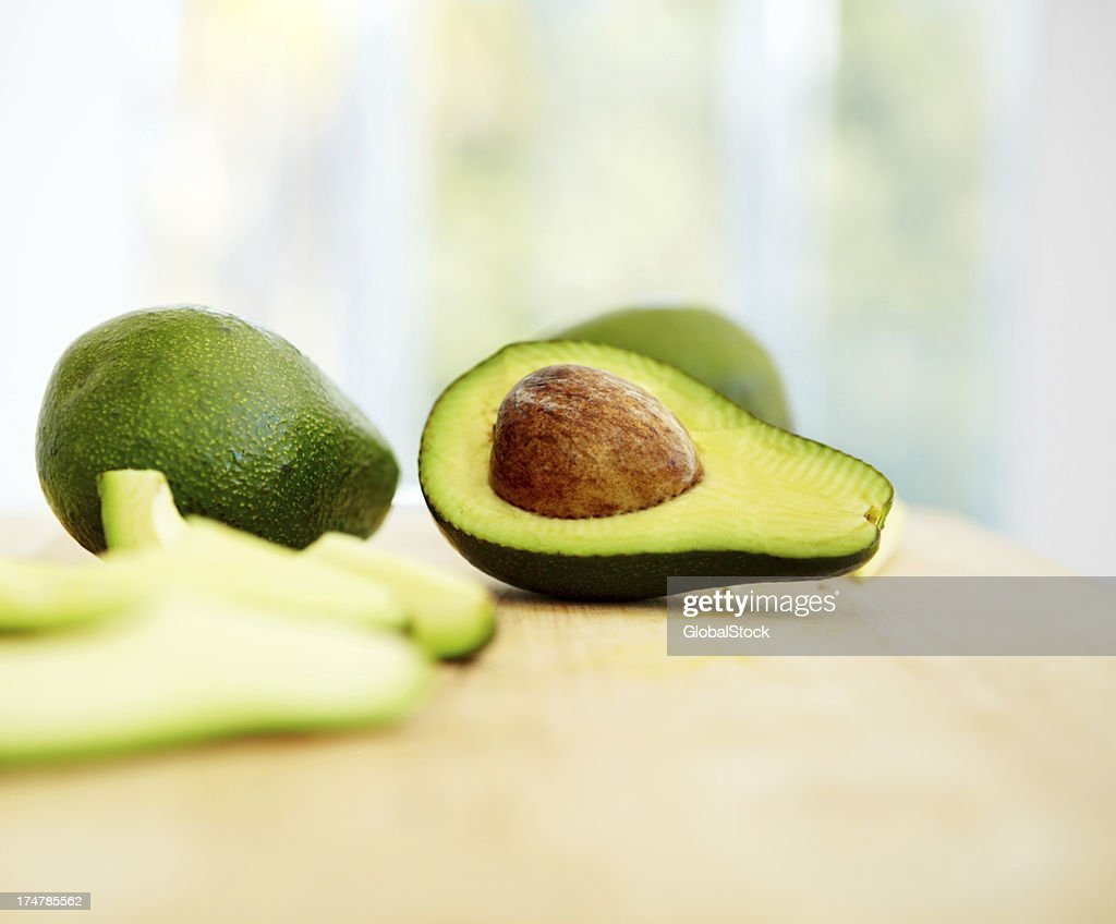Freshest of avos : Stock Photo