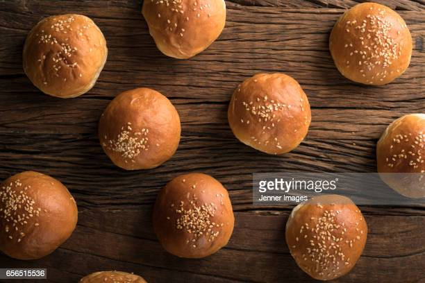 Freshly Baked Bread Buns.