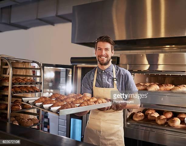 freshly baked, just for you - hartig voedsel stockfoto's en -beelden