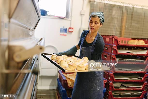 Frisch gebackenen scones