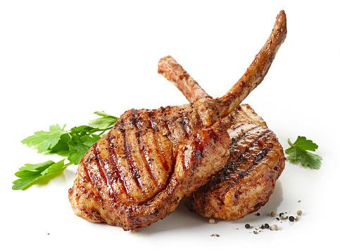 freshly grilled Tomahawk steak 809113782