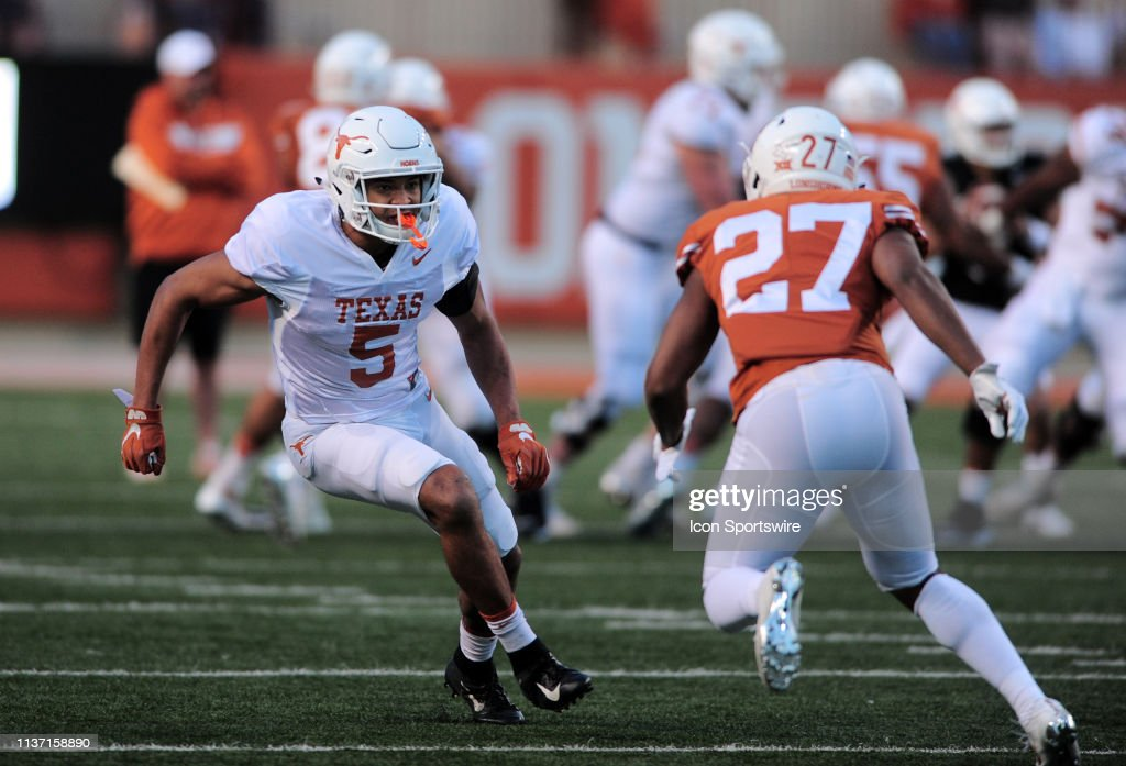 COLLEGE FOOTBALL: APR 13 Texas Spring Game : News Photo