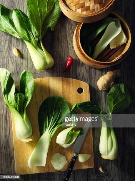 青梗菜の新鮮さ