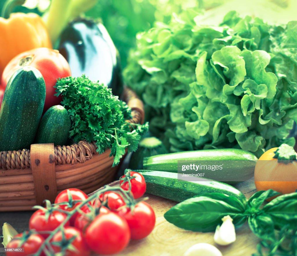 Freshness vegetables : Stock Photo