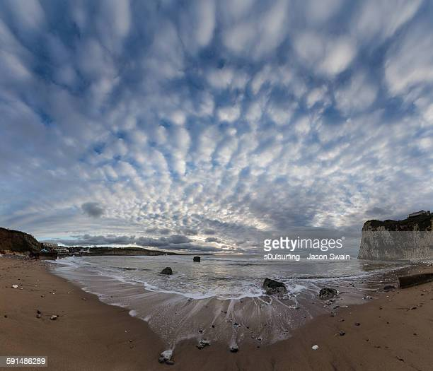 freshwater bay cloudscape - s0ulsurfing stock pictures, royalty-free photos & images