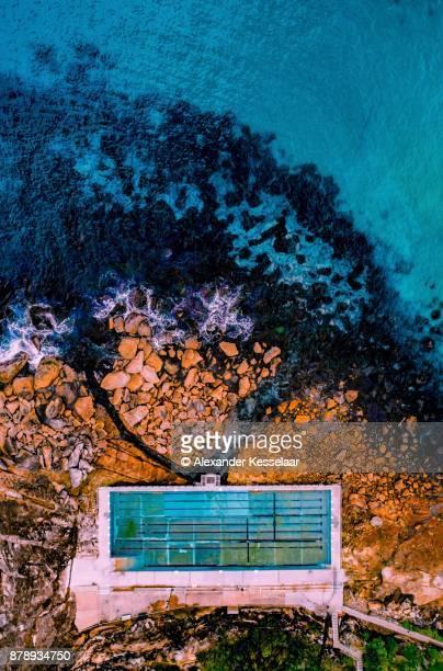 Freshwater Pool Aerial