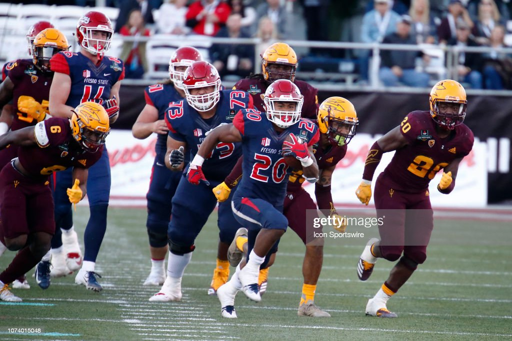 COLLEGE FOOTBALL: DEC 15 Las Vegas Bowl - Fresno State v Arizona State : News Photo