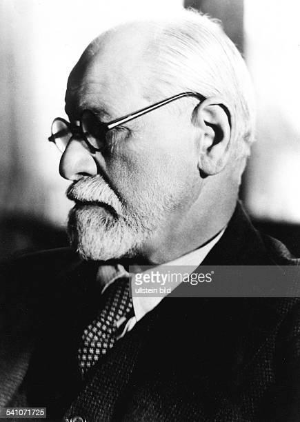 Freud Sigmund *06051856Wissenschaftler Psychoanalytiker ÖsterreichPorträt um 1935