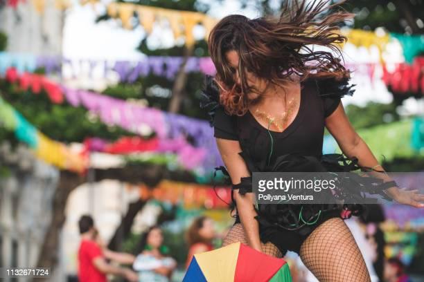 frevo dance - frevo imagens e fotografias de stock