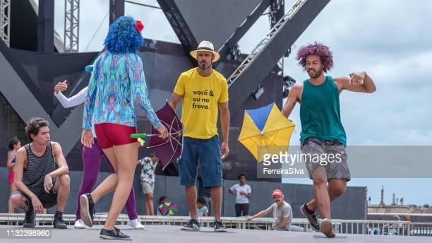 Frevo dancers from Recife city