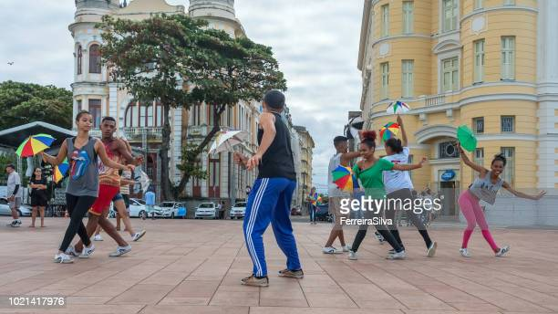 Frevo dancers