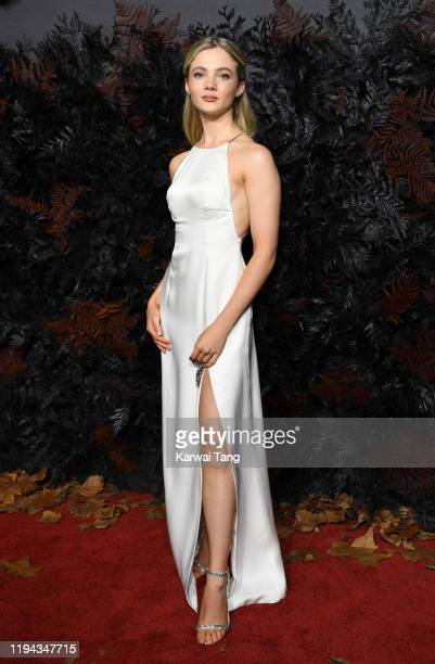 Freya Allan attends The Witcher World Premiere at The Vue on December 16 2019 in London England