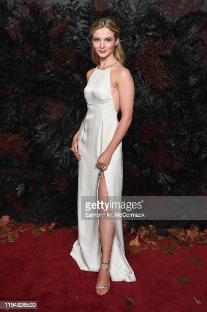 Freya Allan attends The Witcher World Premiere at Vue Cinema West End on December 16 2019 in London England