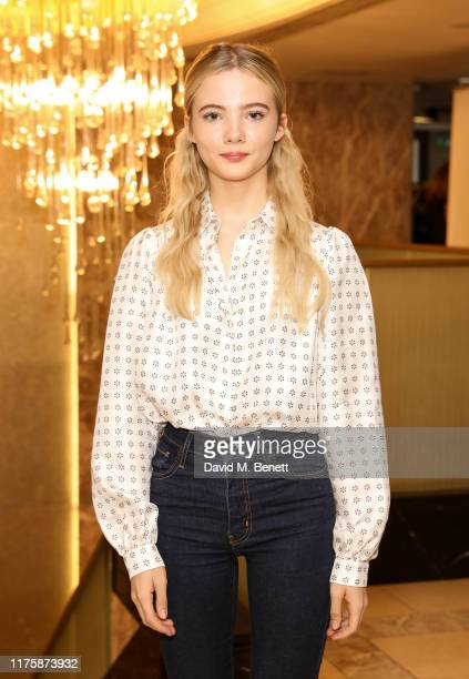 Freya Allan attends the Women Of The Year Lunch Awards 2019 at The Royal Lancaster Hotel on October 14 2019 in London England