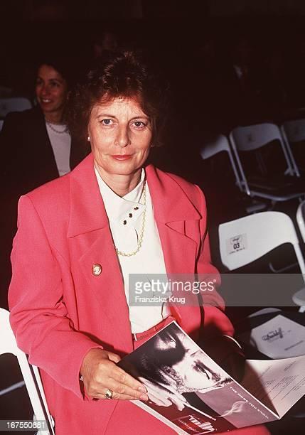 "Freya Barschel Bei Verleihung ""Prix Davidoff""090997"