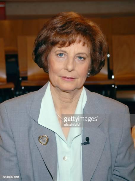 Freya Barschel - Witwe des CDU-Politikers Uwe-Barschel -