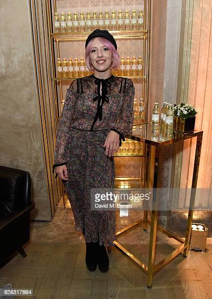 Freya Edmondson attends the launch of the London Essence Company at The Connaught Hotel on November 28, 2016 in London, England.