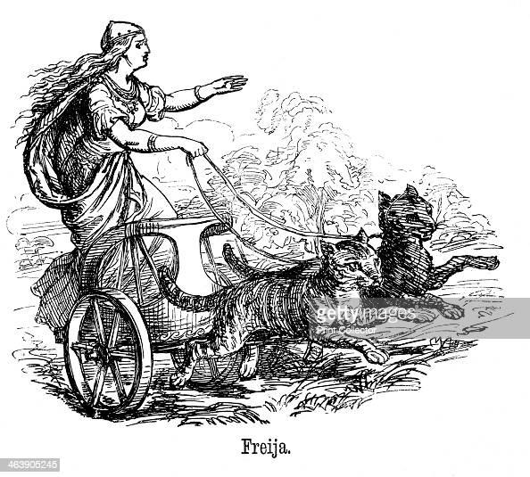 Freya Goddess Of Love In Scandinavian Mythology Wife Of