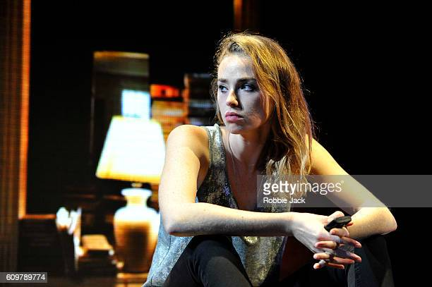 Freya Mavor as Annie in Zach Helm's Good Canary directed by John Malkovich at the Rose Theatre on September 20 2016 in Kingston upon Thames England