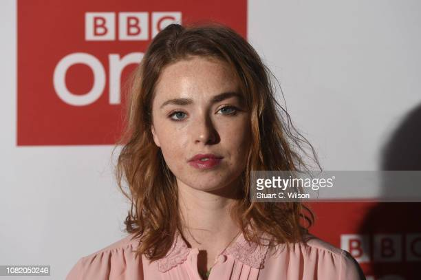 Freya Mavor attends a screening of The ABC Murder at BFI Southbank on December 13 2018 in London England
