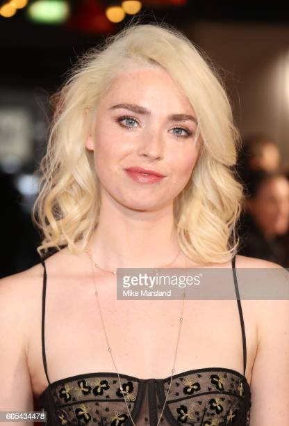 Freya Mavor attends the Gala screening of The Sense of an Ending at Picturehouse Central on April 6 2017 in London England