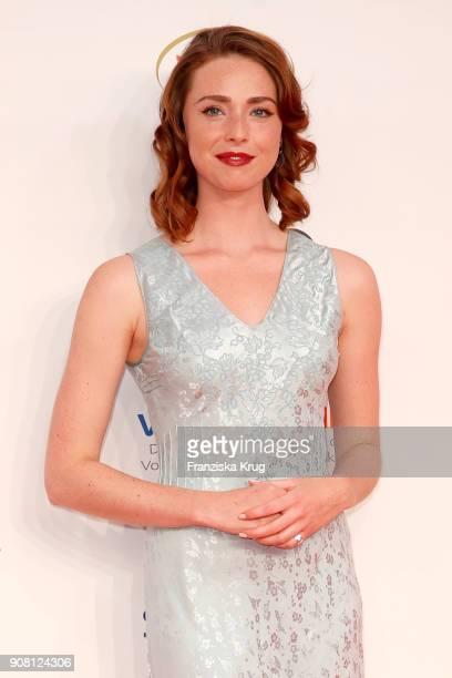 Freya Mavor attends the German Film Ball 2018 at Hotel Bayerischer Hof on January 20 2018 in Munich Germany