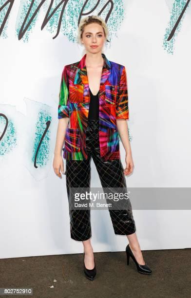 Freya Mavor attends The Serpentine Galleries Summer Party at The Serpentine Gallery on June 28 2017 in London England