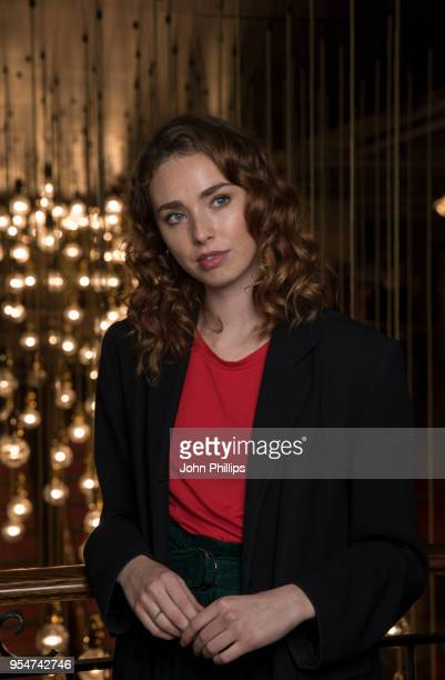 Freya Mavor poses for a portrait at the UK premiere of 'Modern Life Is Rubbish' at Picturehouse Central on May 4 2018 in London England