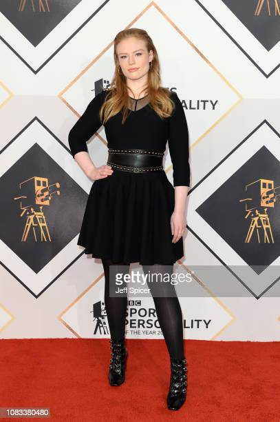 Freya Ridings attends the 2018 BBC Sports Personality Of The Year at The Vox Conference Centre on December 16 2018 in Birmingham England