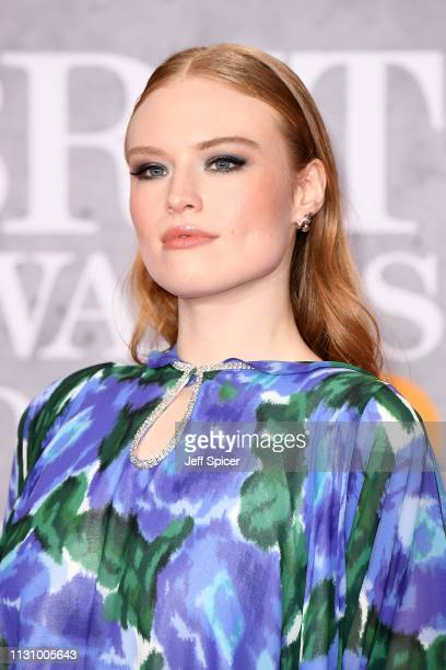 Freya Ridings attends The BRIT Awards 2019 held at The O2 Arena on February 20 2019 in London England