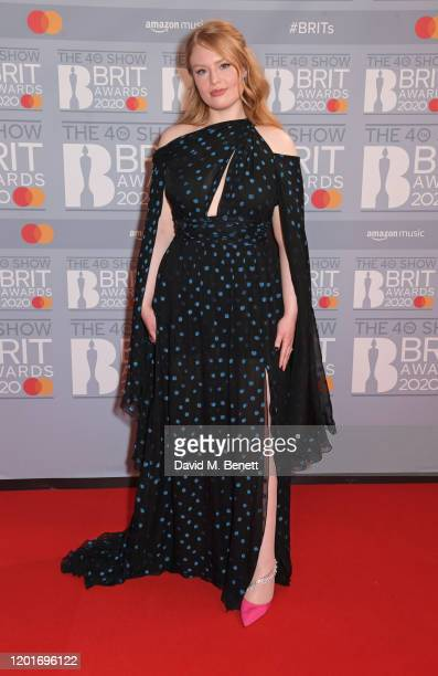 Freya Ridings attends The BRIT Awards 2020 at The O2 Arena on February 18, 2020 in London, England.