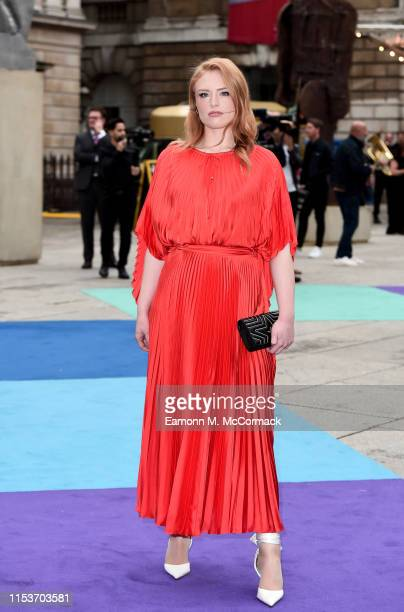 Freya Ridings attends the Royal Academy of Arts Summer exhibition preview at Royal Academy of Arts on June 04 2019 in London England