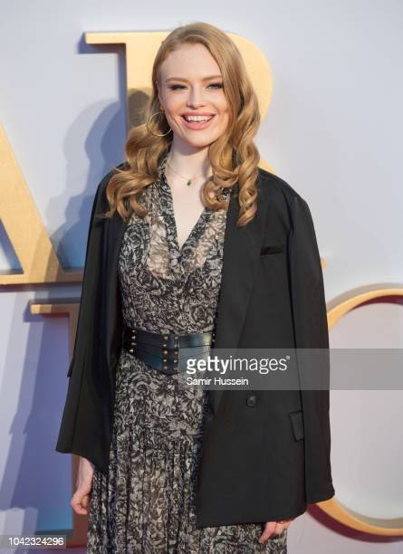 Freya Ridings attends the UK premiere of 'A Star Is Born' held at Vue West End on September 27 2018 in London England