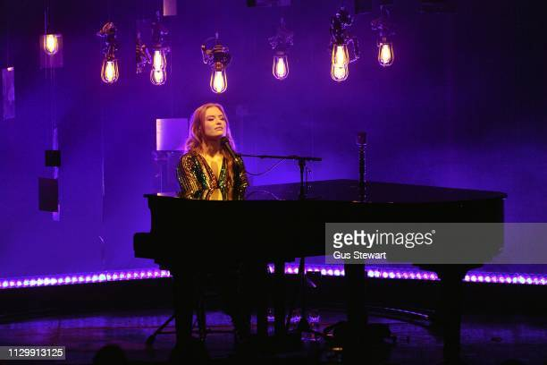 Freya Ridings perfoms on stage at The Roundhouse on March 11 2019 in London England