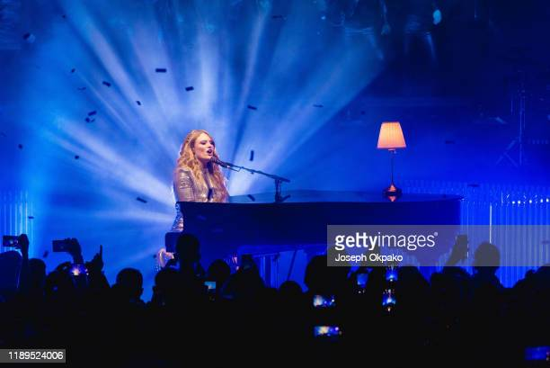 Freya Ridings performs at Eventim Apollo on November 22 2019 in London England