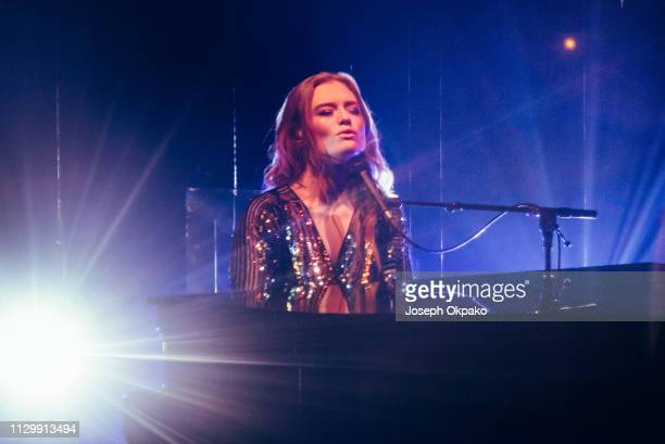 Freya Ridings performs at The Roundhouse on March 11 2019 in London England