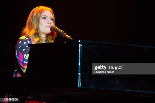 Freya Ridings performs on stage during Hits Radio Live 2019 at MS Bank Arena on November 15 2019 in Liverpool England