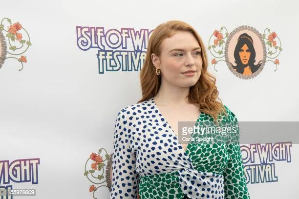 Freya Ridings poses during Isle of Wight Festival 2019 at Seaclose Park on June 14 2019 in Newport Isle of Wight