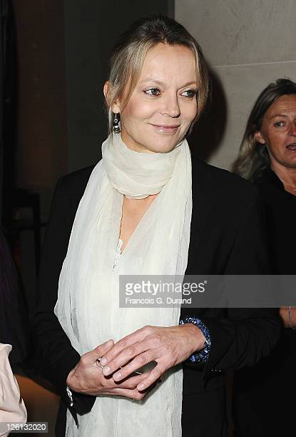 Freya St Johnston attends the Hotel Mandarin Oriental Inauguration at Hotel Mandarin Oriental on September 22 2011 in Paris France