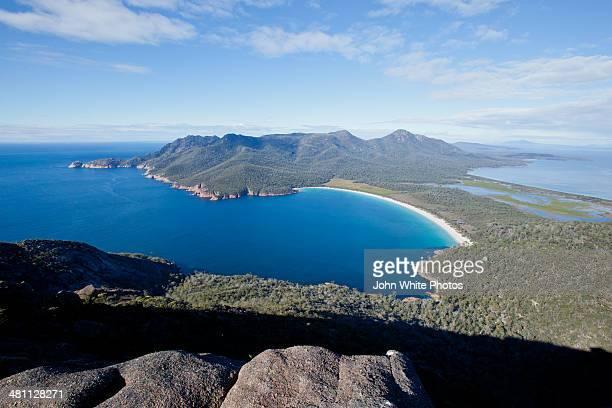 Freycinet. Wine Glass Bay. Tasmania. Australia