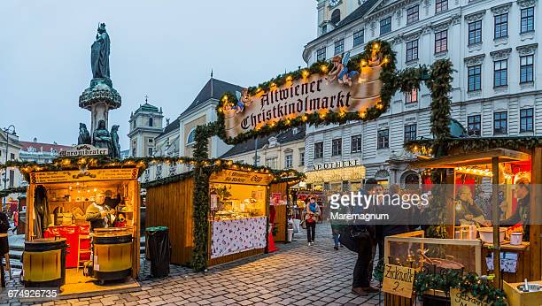 Freyung square, the Altwiener Christmas Market