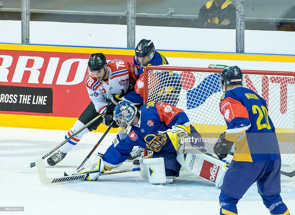 Lukko Rauma v Fribourg-Gotteron - Champions Hockey League : News Photo
