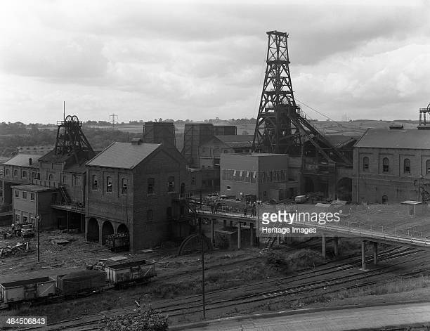 Frickley Colliery South Elmsall West Yorkshire 1965 With its shaft sunk in 1905 Frickley Colliery in the village of South Elmsall West Yorkshire was...