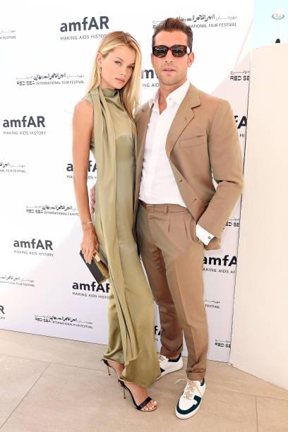FRA: Celebration of Cinema, Pre-amfAR Gala Lunch - The 74th Annual Cannes Film Festival