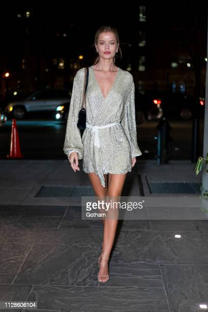 Frida Aasen attends Maybelline New York Fashion Week Party at the Public Hotel on February 09 2019 in New York City